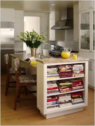 nice breakfast bar decorated with flower vase and books ways to