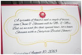 bridal shower gift poems bridal shower invitation wording poem kawaiitheo