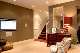 epic house basement design with create home interior cement wall