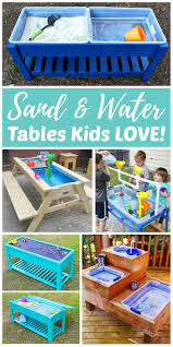 sand and water tables kids love rhythms of play