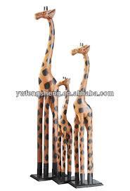 2017 wood carving giraffe sale wooden craft giraffe high