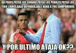 Alexis Meme - los memes que humillan al arsenal y defienden a alexis as chile