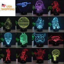 Iron Man Night Light Darth Vader Lamp Ebay