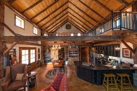 pole barn home interiors pole barn living quarters come in many forms from a simple loft