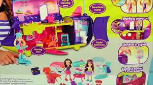 polly pocket frozen elsa magic clip dolls airplane barbie toys