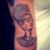 ancient egyptian queen tattoo on arm photos pictures and