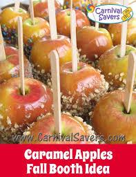 caramel or apples fall festival food idea church event