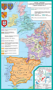 Map Of France And England by Britain France And The State Of The Iberian Peninsula During The
