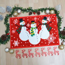 Snowman Rug Snowman Christmas Rugs Free Uk Delivery The Rug Seller