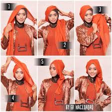 tutorial hijab segitiga paris simple tutorial hijab segitiga paris jinglepuff butik