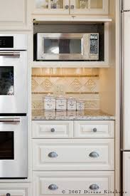 microwave kitchen cabinets great idea for microwave cabinet