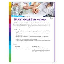 Setting Smart Goals Worksheet Ade Smart Goals Worksheet Interactive Atom Alliance