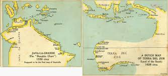 Map Java The Discovery Of Australia