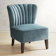 Blue Leather Armchair Chairs Accent Chairs U0026 Armchairs Pier 1 Imports