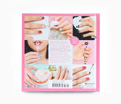 hello kitty nail art book hardcover sanrio