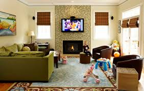 Stunning Family Living Room Contemporary Home Design Ideas - Family living rooms