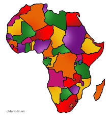 africa map color top 77 africa clip free clipart image