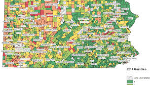 Bucks County Tax Map Municipal Distress Getting Worse In Pennsylvania According To New