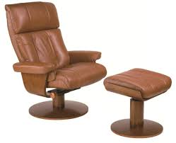 Swivel Recliner Chairs For Living Room Mac Motion Norway Swivel Recliner With Ottoman