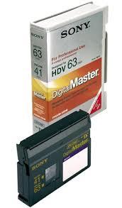 hdv cassette sony digitalmaster phdvm 63dm mini dv dvcam hdv