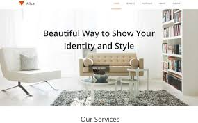 25 lovely interior and furniture html and bootstrap templates