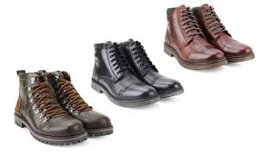 groupon s boots up to 70 on unionbay s leather boots groupon goods
