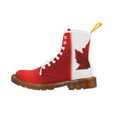 womens boots in canada canadian flag boots canada souvenir boots martin boots for