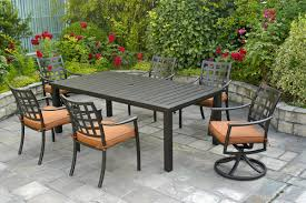 Firepit Dining Table by Hanamint Sherwood Fire Pit Dining Table All Things Barbecue