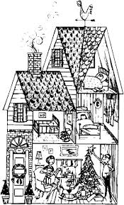 coloring pictures of parts of the house house and home design