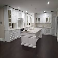 kitchen cabinet marble top custom modern glass door marble top solid wood kitchen cabinet white drawer for home
