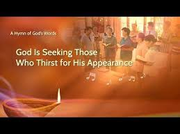 Seeking Song Christian Song The Second Coming Of Lord God Is Seeking Those