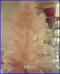 original 1920 s style pink vintage ostrich feather tree