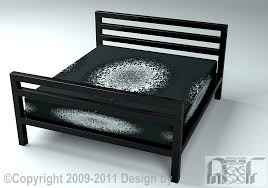 bed frame 006 assf advanced stainless steel furniture