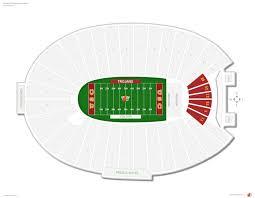 Angel Stadium Seating Map Los Angeles Rams Seating Guide Los Angeles Memorial Coliseum