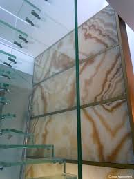 natural stone decorative panel wall mounted backlit smooth