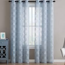 Lime Green Sheer Curtains Sheer Curtains You U0027ll Love Wayfair