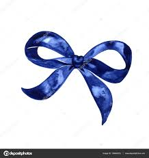 blue bows watercolor bow set different blue bows and ribbons for holidays