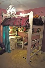 Desk Beds For Girls by 29 Best Bedroom Makeovers With A Loft Bed Images On Pinterest