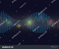 sound waves background stock vector 227763793 shutterstock