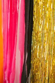 16 pcs ensemble d礬corations fond feuille rideau frange