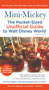 travel guides books the unofficial guide to walt disney world and disneyland