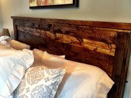 adorable distressed wood headboard ana white reclaimed wood