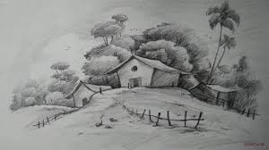 beautiful landscape drawings basketball players positions