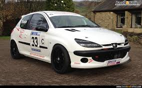 peugeot pre owned peugeot 206 race car rally sprint hillclimb track 274 bhp race