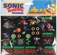 amazon com sonic fridge magnets toys u0026 games