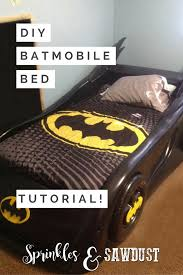 diy batmobile toddler bed for batman themed room diy house decor how to diy batmobile twin bed from a race car bed
