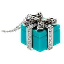 diamond box necklace images Tiffany and co diamond platinum tiffany blue box necklace at 1stdibs jpg