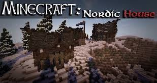 Nordic Style House Minecraft House Nordic Style Tutorial Youtube