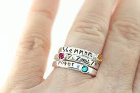 size 9 ring stacking ring size 9 ring birthstone ring sterling