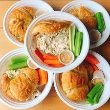 colibri cuisine chicken salad croissant healthy bites by colibri cuisine